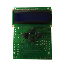 Phileo electronic card with display