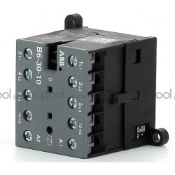 Industrial contactor 4P ABB B6 230V/50Hz 4kW