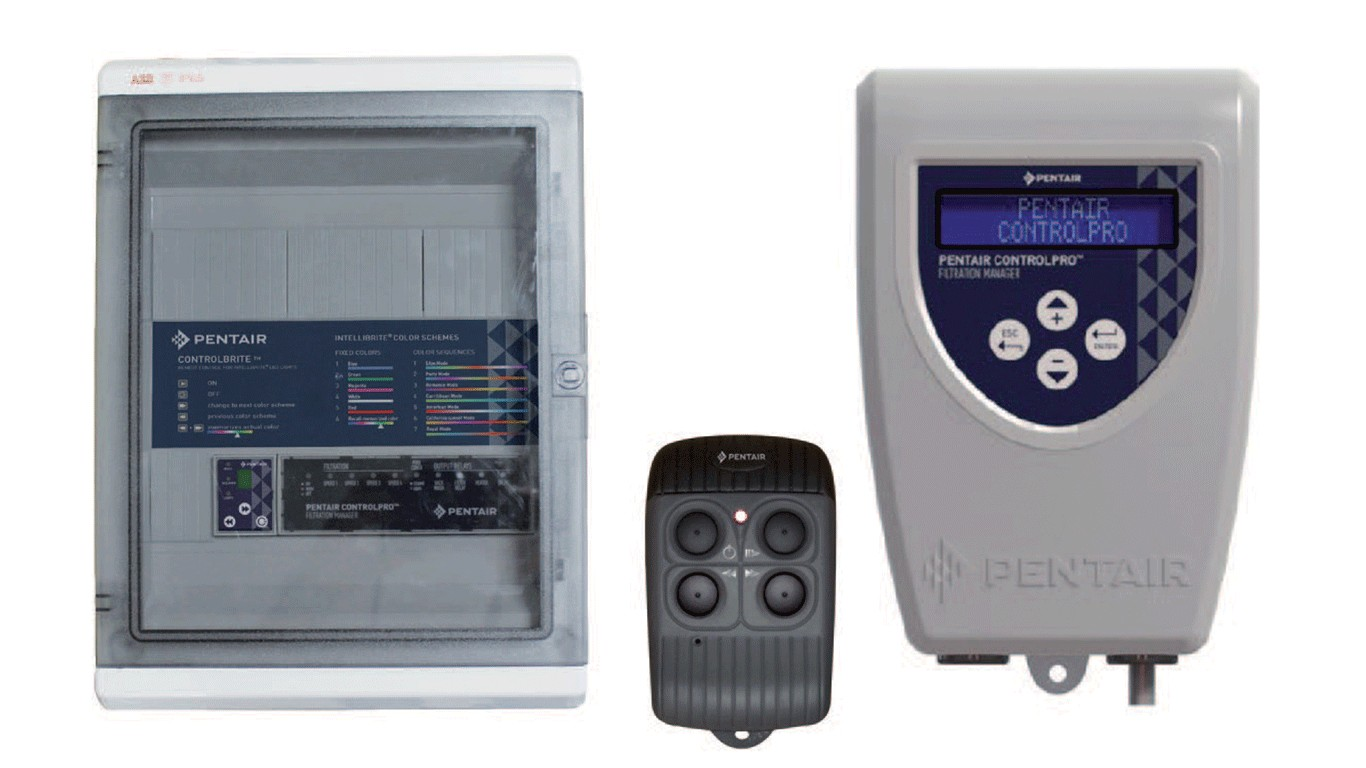 Pentair ControlPro PLUS filtration and lighting management