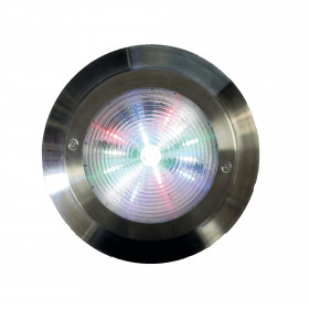 Inox 316L Stella LED pool floodlight - CCEI - Installation on wall fixture