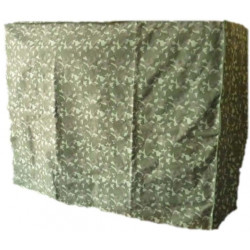 Camouflage protective cover for pool heat pump - WarmPool