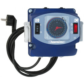 Daily programming clock for filter pump + differential switch